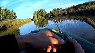 Злая ЩУКА Сломала Спиннинг!!!Хороший клев!!Рыбалка на спиннинг.