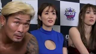 葉加瀬マイ、主演映画「LADY NINJA~青い影~」イベント(DDT「新春お年...