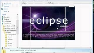 видео Как установить Eclipse и плагин ADT