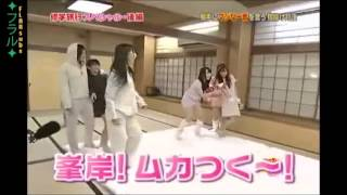 [ENG SUB]AKB48 Pillow Dodgeball Fight