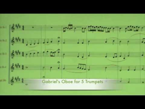 Gabriel's Oboe For 5 Trumpets - Paolo Trettel