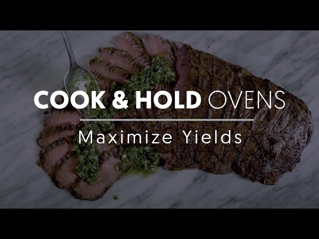 Maximize Yields with the Cook & Hold Oven