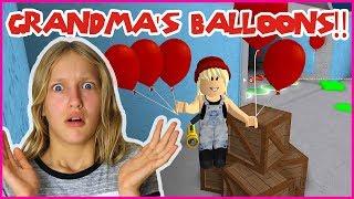 Creepy Balloons at Grandma's House!