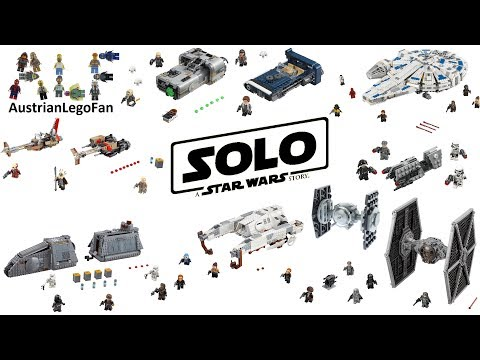 Lego Solo A Star Wars Story Compilation Of All Sets 2018