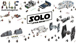 Solo A Star Wars Story - All Lego Sets 2018 Complete Collection - Lego Speed Build Review