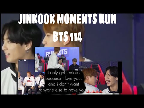 Jinkook Moments :Run Bts 114 Ep! Jungkook jealous??  *You Haven't Noticed Them*