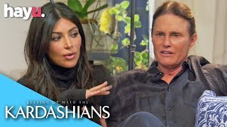 Kim Kardashian Asks Caitlyn Jenner Questions About Her Sexuality | Keeping Up With The Kardashians