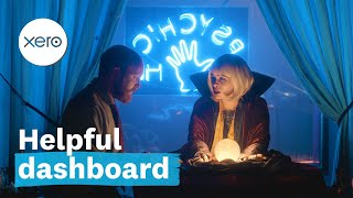 Xero's helpful dashboard | Beautiful business | Xero