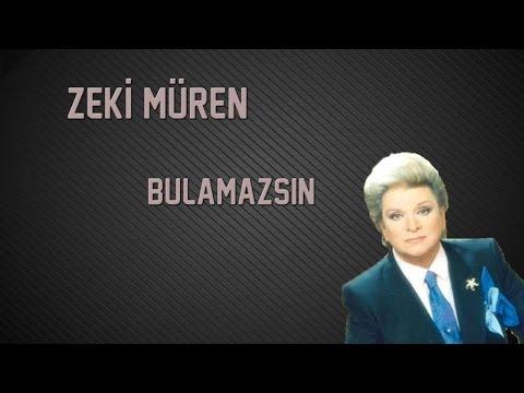 Zeki Müren - Bulamazsın (Official Audio)