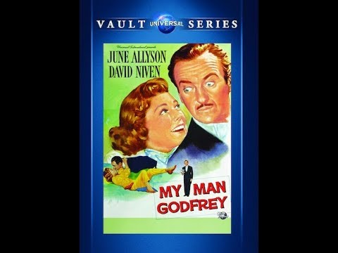 My Man Godfrey (1957) Comedy - David Niven, June Allyson
