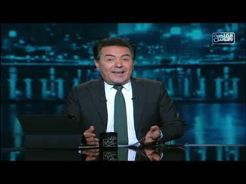 خيري رمضان يطمأن جمهور إبراهيم عيسى بعد حادث سقوط ديكور أثناء تصويره لأحد البرامج