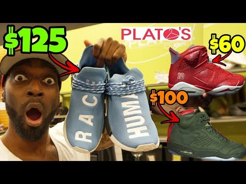 DON'T SELL YOUR SHOES AT PLATO'S CLOSET!!! IT'S A SCAM!!