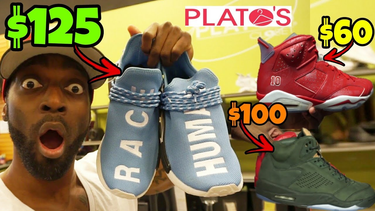 DON'T SELL YOUR SHOES AT PLATO'S CLOSET