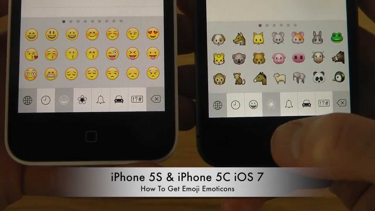 How To Get Emoji Emoticons On iPhone 5S & iPhone 5C iOS 7