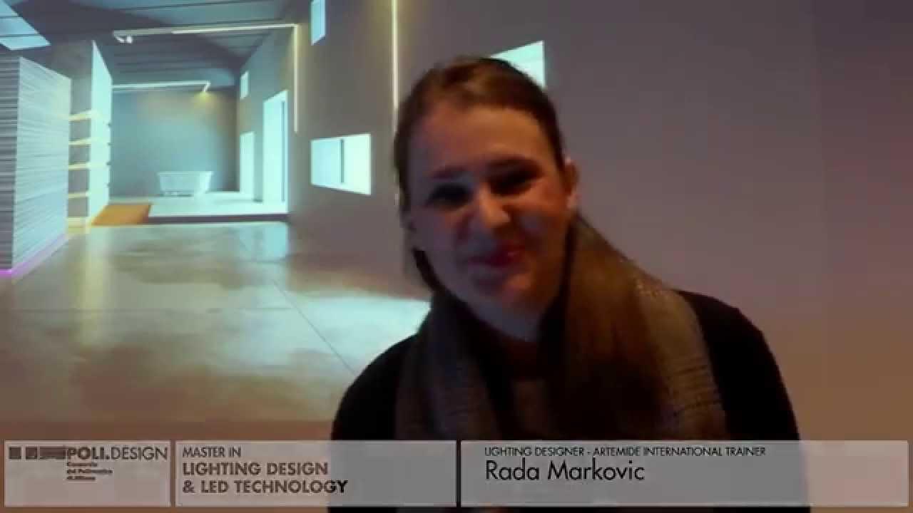 [Lighting Design u0026 Led Technology] Student interview - Rada Markovic (English)  sc 1 st  YouTube & Lighting Design u0026 Led Technology] Student interview - Rada ... azcodes.com