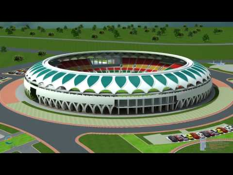 Lucknow International Cricket Stadium 3D HD