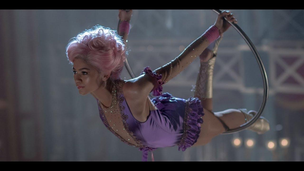 Zendaya swings into the 'exciting' next phase of her career with 'Greatest Showman'