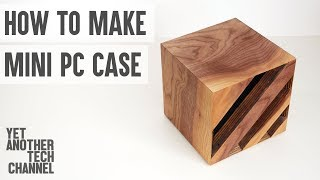 How to make a mini computer case from scratch (DIY computer case)