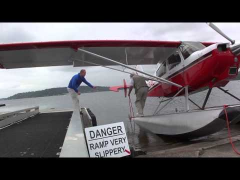 Flying the American Champion Scout 8GCBC on floats Part 1