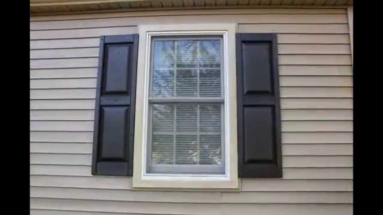 Exterior Vinyl Shutters For Windows