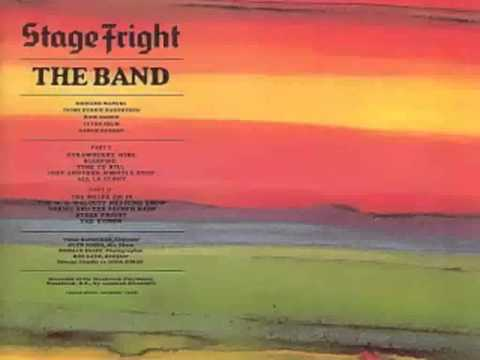 The Band - Stage Fright (with lyrics)