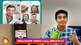 #Whatsapp Video Calls Upgraded | New Update | About Feature | android & iOS support | Geeky Sharma