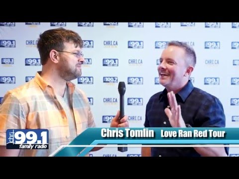 Chris Tomlin Interview in Ottawa, Canada