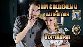 ZUM GOLDENEN V Vorglühen - Alligatoah allein im Wald: Furcht & positives Denken