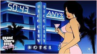 GTA Vice City Speedrun - Any% (No SSU) - 50:43 [PB]