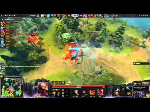 Fnatic vs compLexity Gaming Game 3- EPICENTER Moscow Full Highlights Dota 2
