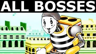 Octogeddon - All Bosses, All Boss Battles Gameplay (No Commentary) (Indie Game 2018)