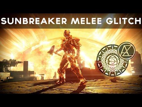 Destiny - Sunbreaker Melee Glitch