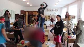 Шок!!!Harlem Shake на уроке!!!!!Видео-поздравление учителей 2017