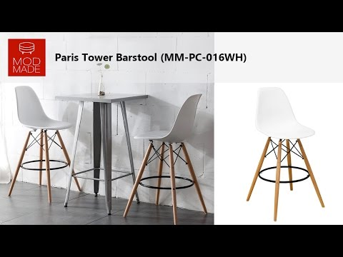 Mod Made Paris Tower Barstool Product Introduction & Assembly Tutorial