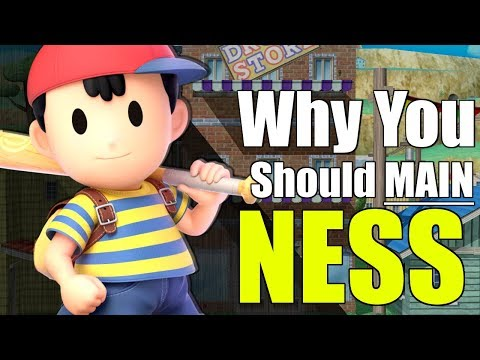 Super Smash Bros. Ultimate | Ness Analysis + Intro Guide