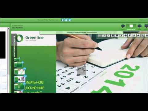 One Line Online Green Line 5 02 2014  Первая презентация на
