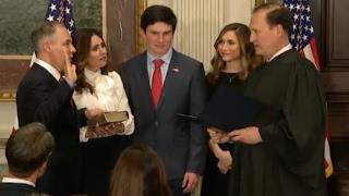 Pruitt Sworn In As EPA Chief - Full Event