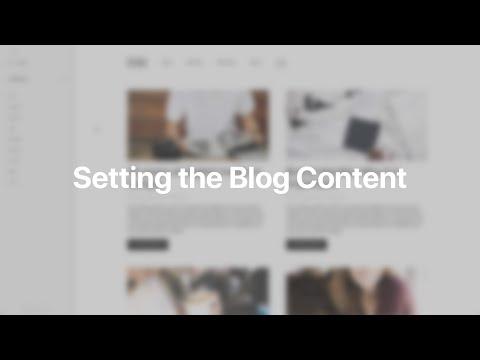 Setting The Blog Content | YOOtheme Documentation (Joomla)