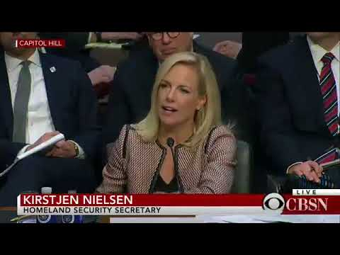 Nielsen to Durbin What I heard the President say was he wants to move from a country based system to
