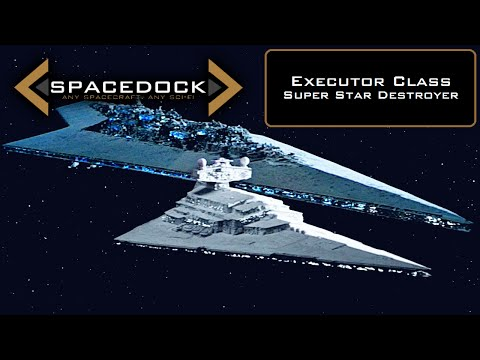 Star Wars: Executor Class Super Star Destroyer (Legends) - Spacedock