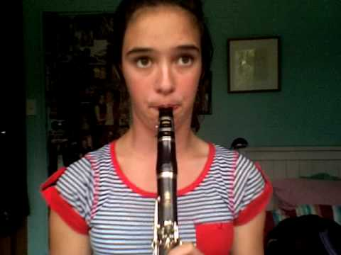 Can you feel the love tonight on clarinet with FREE sheet music and mp3 download
