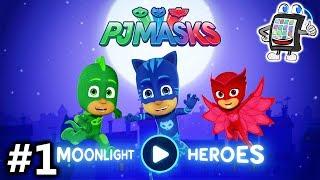 PJ MASKS MOONLIGHT HEROES App deutsch | PYJAMAHELD EULETTE FLIEGT DURCH DIE LÜFTE