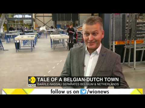 Baarle-Nassau, the most complicated border town in the world