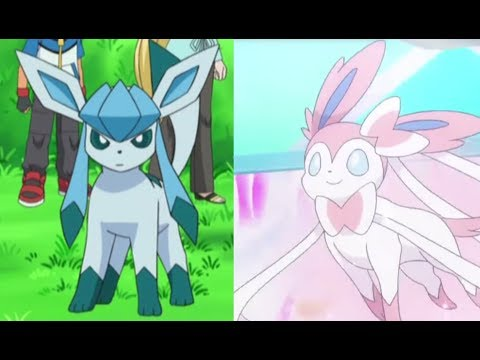 Glaceon and Sylveon AMV-Sing me to Sleep (HD)