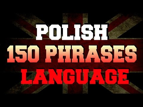Learn Polish language 150 most frequently used phrases and words