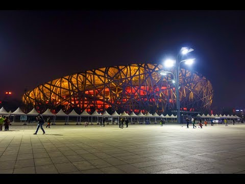 Beijing National Stadium: Bird's Nest and Water Cube, Beijing, China