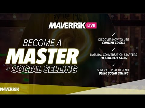 Become a Master at Social Selling
