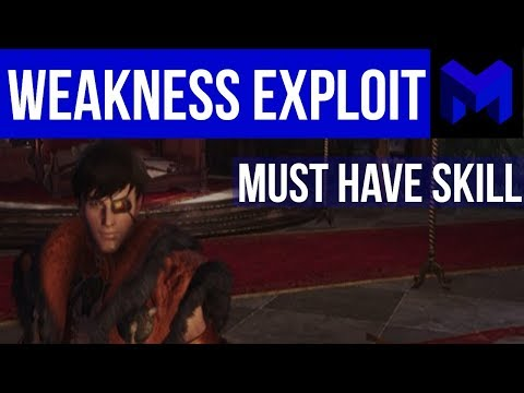 Why Weakness Exploit is amazing: Monster Hunter World