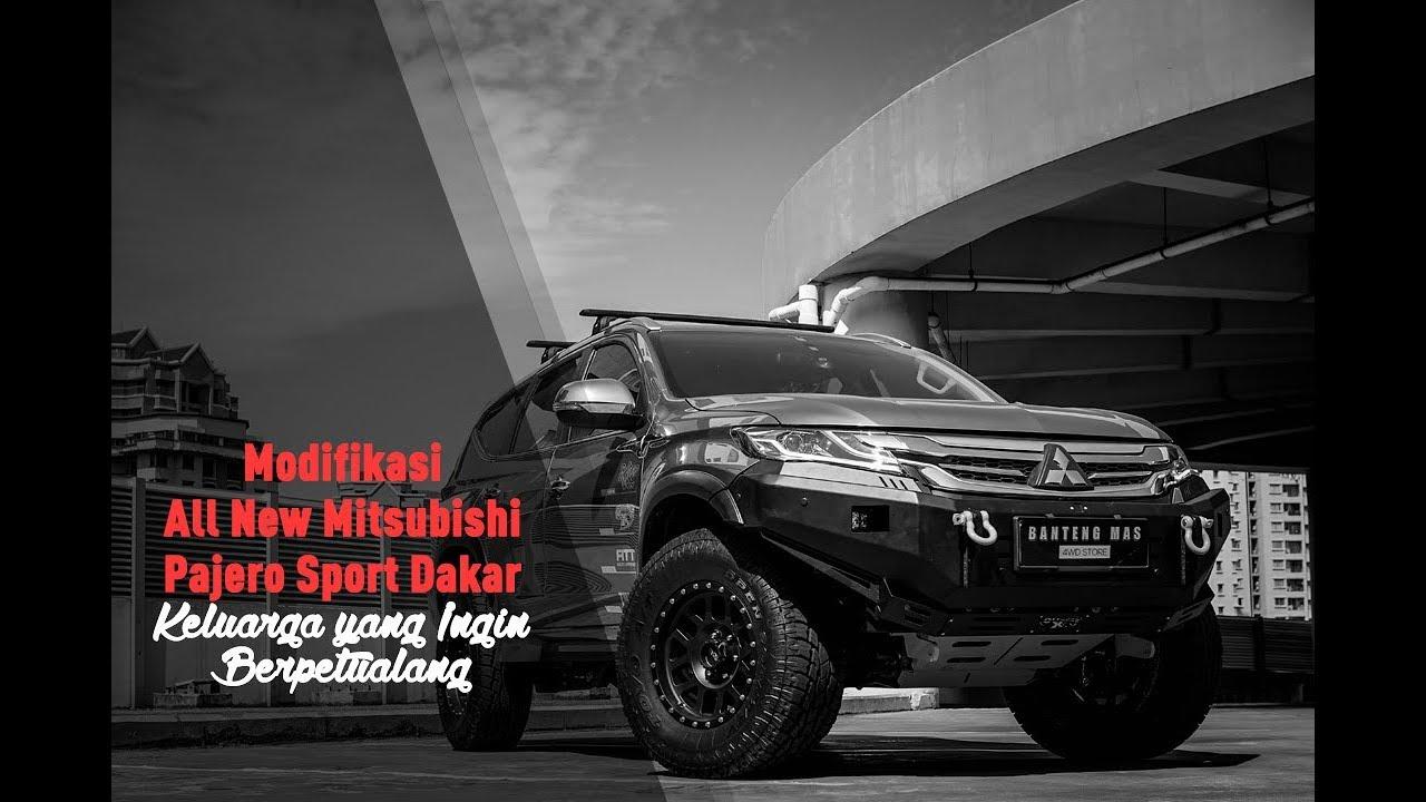 Modifikasi All New Mitsubishi Pajero  Sport Dakar 2017