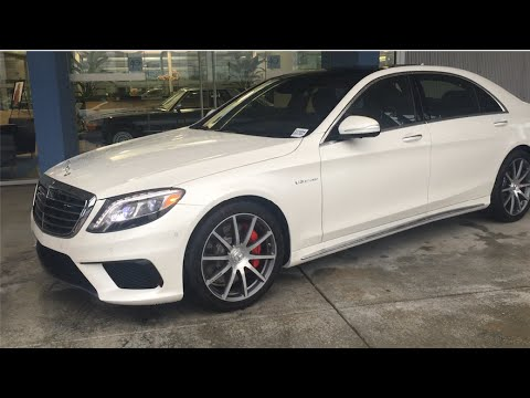 2016 Mercedes Amg S63 Review